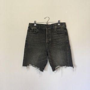 American Eagle 90's Boyfriend Distressed Shorts